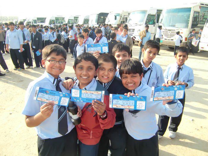 インド人学校の子どもたち